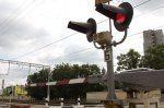 Нарушение правил на переезде Ульяновск